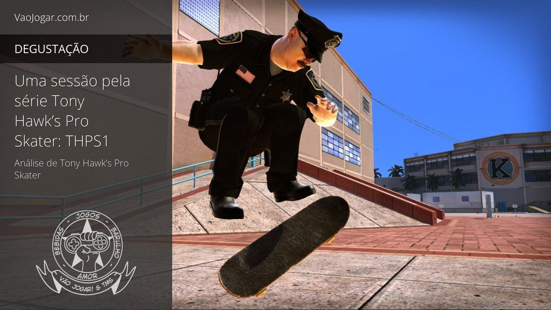 Uma Sessão Pela Série Tony Hawk'S Pro Skater: Thps1